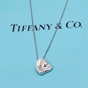Tiffany & Co Solid Heart Necklace